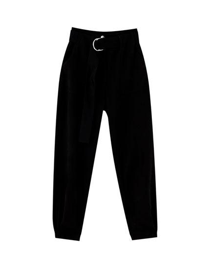 369b34e06c6 Dames pantalons - Lente Zomer 2019   PULL&BEAR