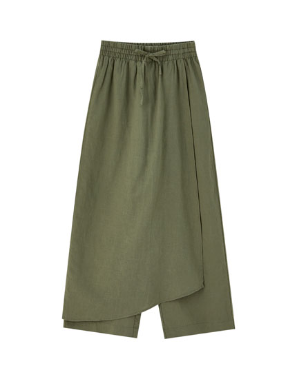 Faldilla pantaló culotte