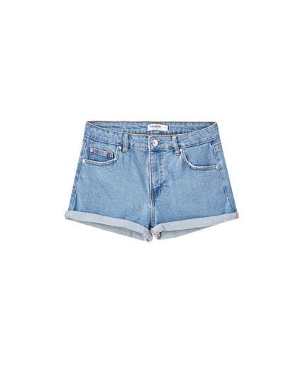 e275ce562eaee Women's Shorts | PULL&BEAR