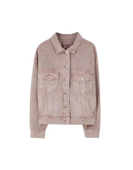 Veste en jean basique couleurs
