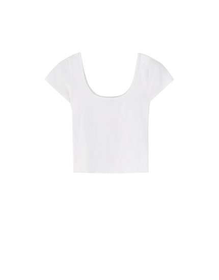 Basic cropped T-shirt