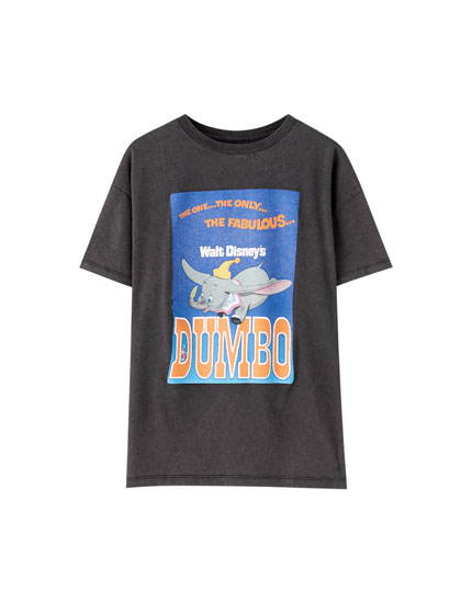 Black vintage Dumbo T-shirt