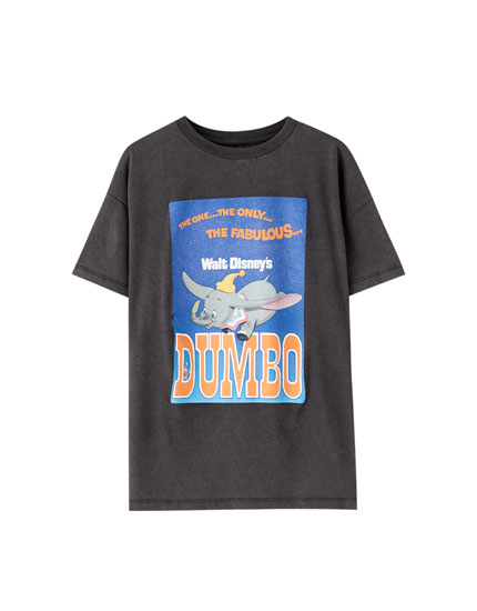Shirt Dumbo Washed-Look