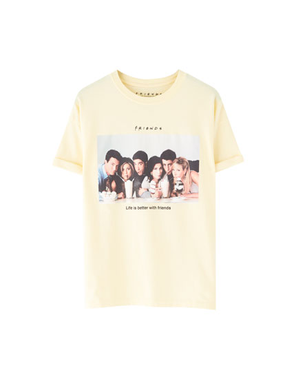 Camiseta Friends amarela
