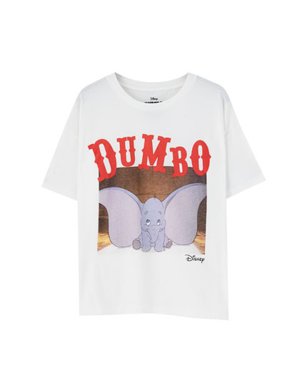 T-shirt do Dumbo da Disney com fotograma