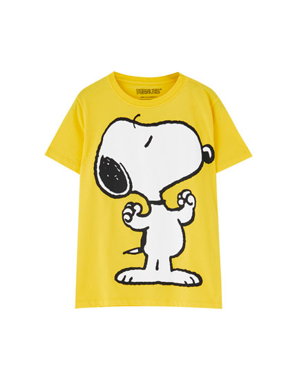 Yellow Snoopy T-shirt