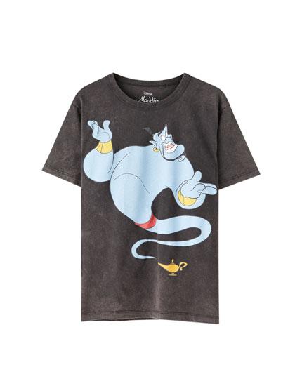 Shirt mit Print Aladdin, der Geist