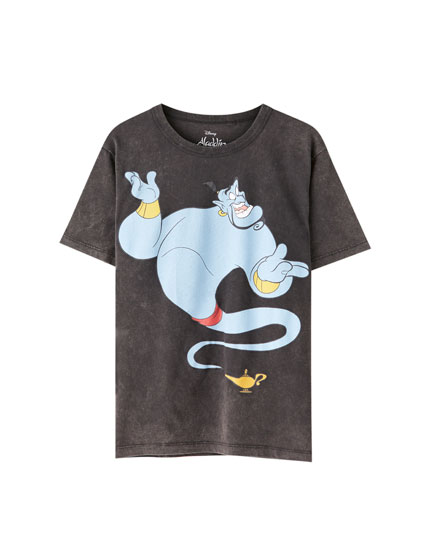 T-shirt do Aladdin com génio