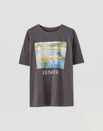 T-shirt illustration Renoir