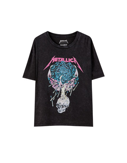 T-shirt Metallica bougie