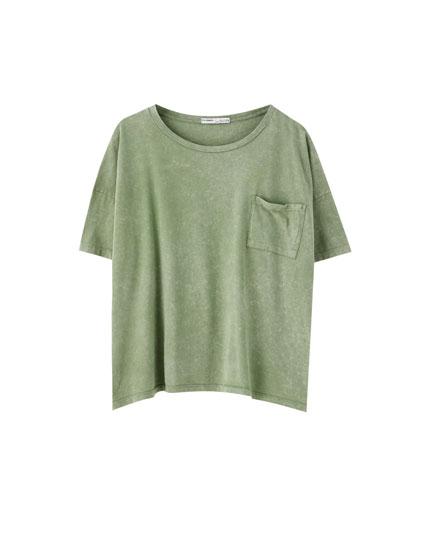 dd83230fc31 Ontdek de nieuwste T-shirts voor Dames | PULL&BEAR