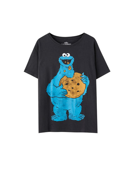 Camiseta Monstro das galletas