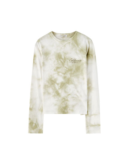 California tie-dye T-shirt