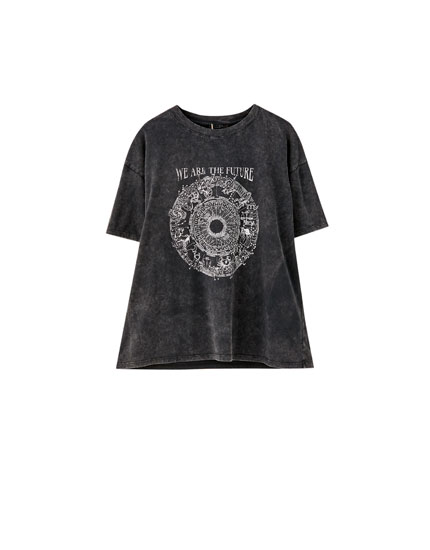 Zodiac illustration T-shirt