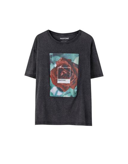 Rose pantone T-shirt