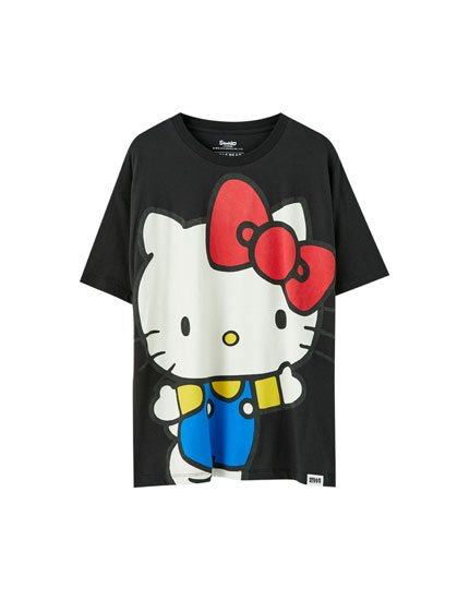 T-shirt grand Hello Kitty