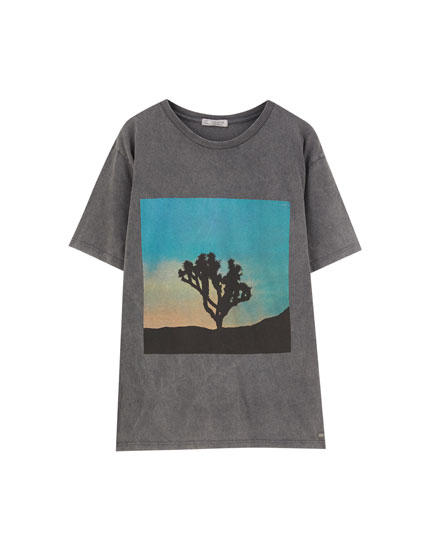Cactus photo T-shirt