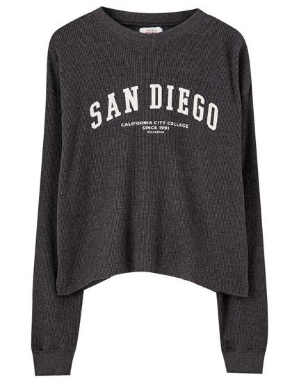 Skakternet T-shirt med San Diego