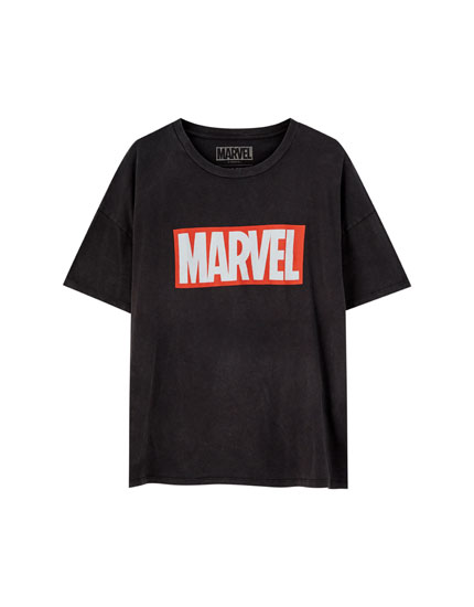 T-shirt Marvel logótipo