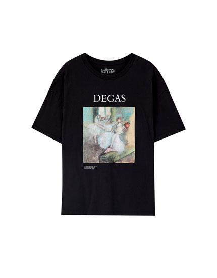 T-shirt med Edgar Degas