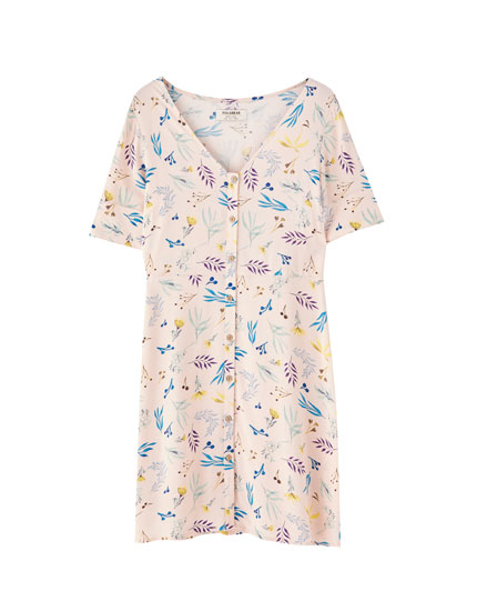 Vestit mini estampat floral