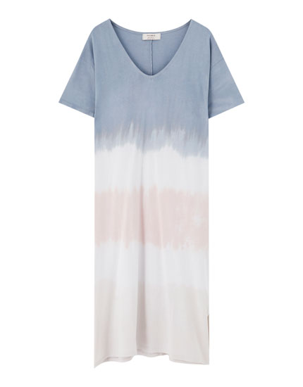 T-shirtdress tie-dye