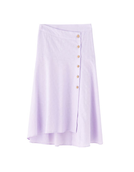 Lilla midi-nederdel