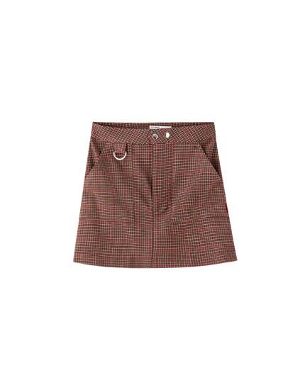 ea56d7dc6 Descubre lo último en Faldas de Moda de Mujer | PULL&BEAR