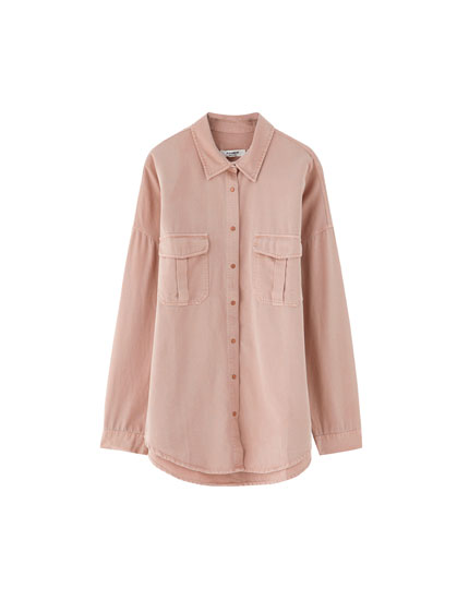 f96ca876d94 Check out the latest in Women's Blouses and Shirts | PULL&BEAR