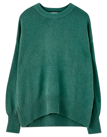 Oversized sweater in several colours