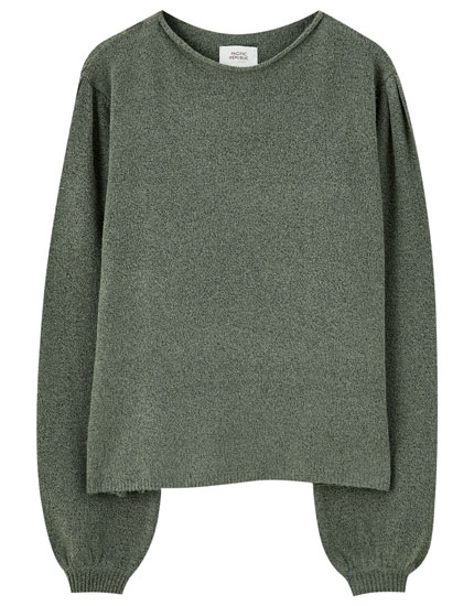 Basic wide neck sweater