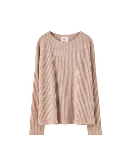 Cutwork sweater