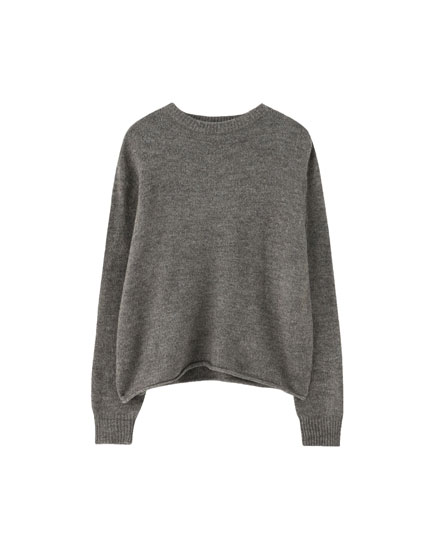 Basic soft knit sweater