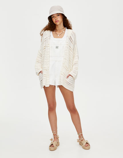 JOIN LIFE crochet cardigan