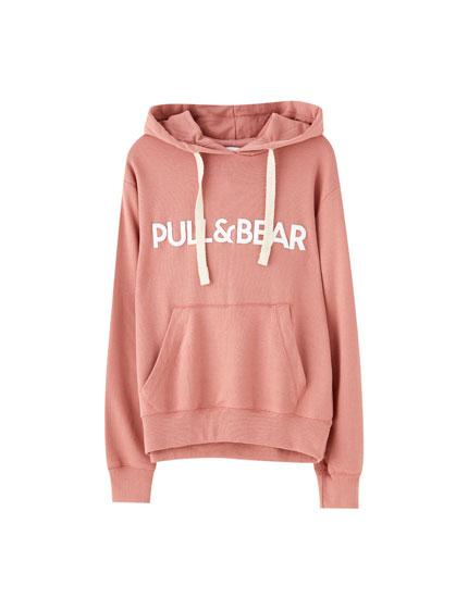 Slogan hoodie
