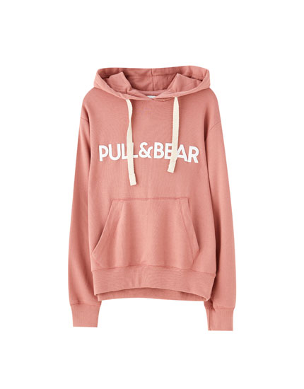 Sweat logo capuche