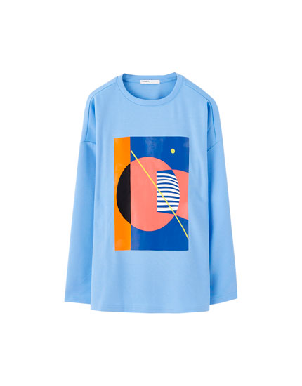 Long sleeve T-shirt with graphic