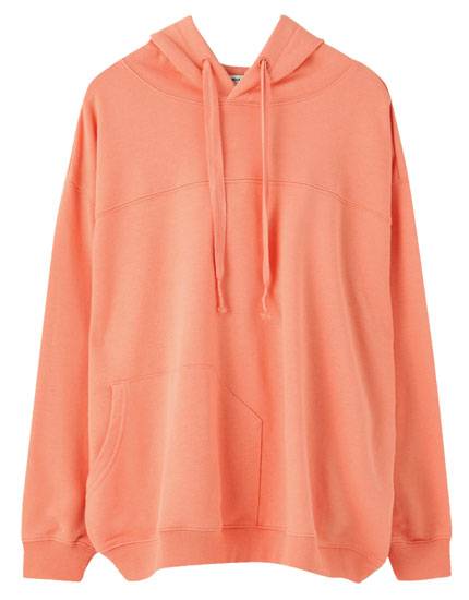 Basic plush sweatshirt