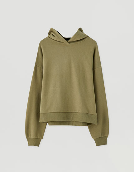 Basic coloured hoodie