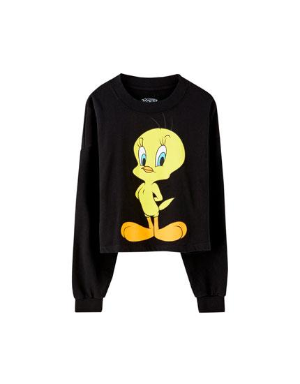 Black Tweety Bird sweatshirt