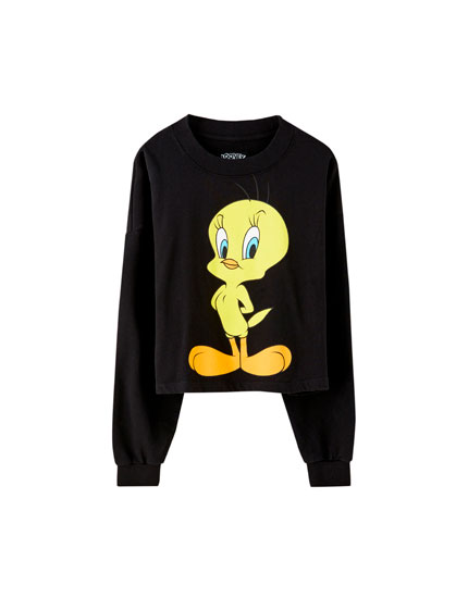 Black Tweety Bird sweatshirt