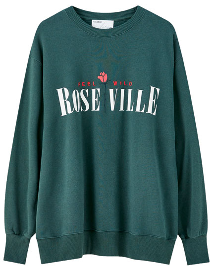 "Green ""Roseville"" sweatshirt"