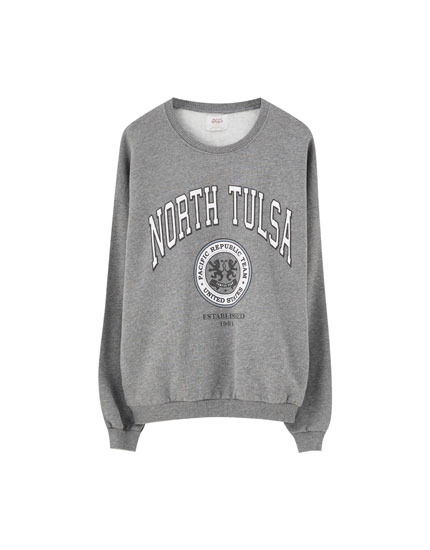 'North Tulsa' sweatshirt