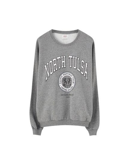 'North Tulsa' sweatshirt