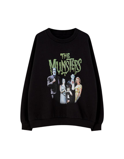 Black 'The Munsters' sweatshirt