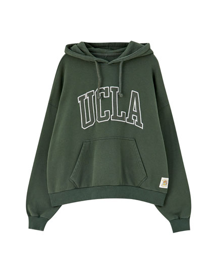 Sweat UCLA by Pull&Bear vert