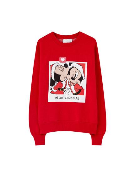 Φούτερ Mickey & Minnie Santa