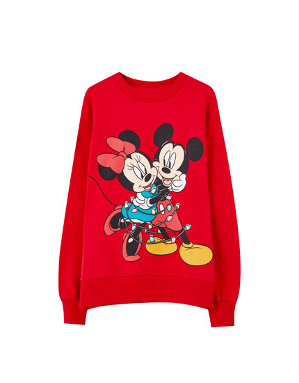 Mickey and Minnie mouse sweatshirt