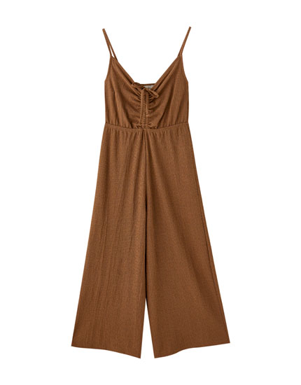 Short strappy jumpsuit
