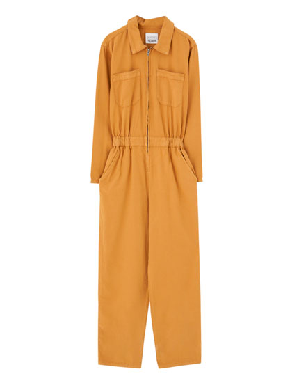 Jumpsuit with zip